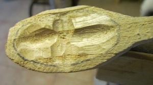Realizzazione di un cucchiaio in legno